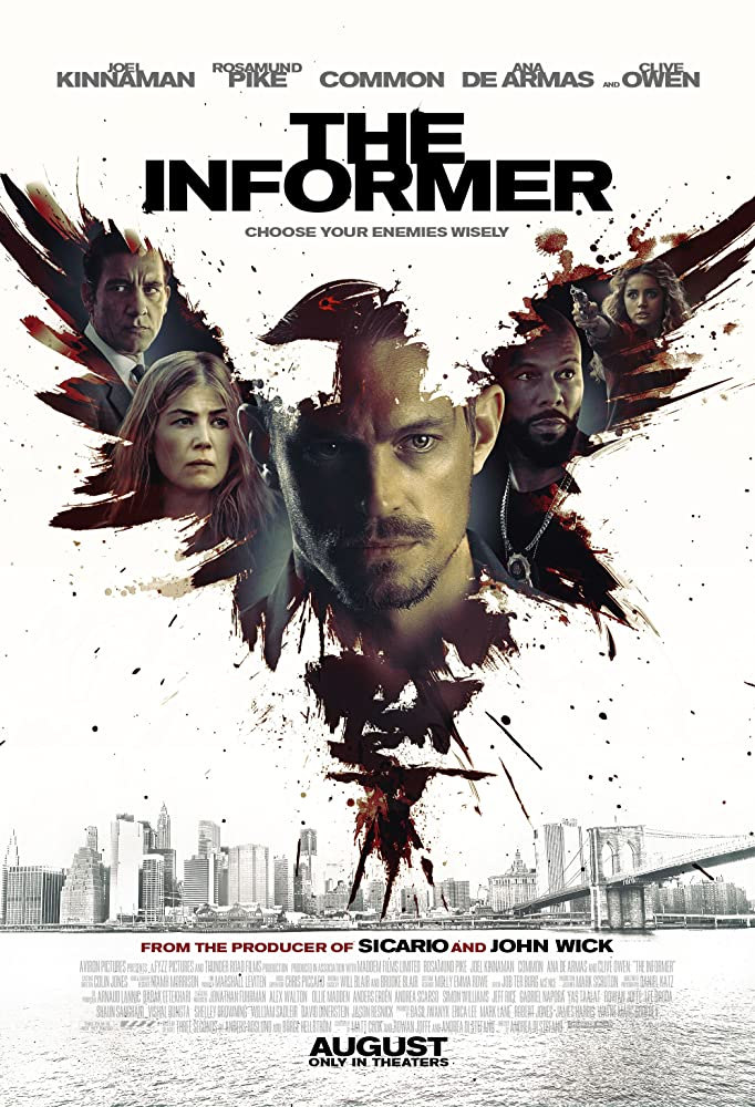 Cover The Informer (2019)